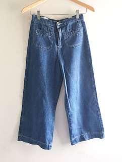 Highwaist Jeans Kulot