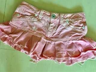 Authentic GUESS Pink Retro Cotton Mini Skirt