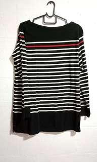 🚚 Striped Loose Fit Sweater Pullover