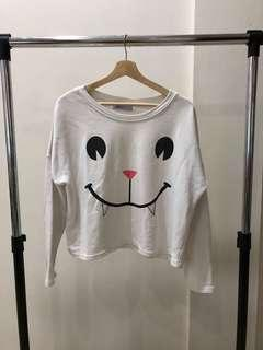 White Cat Sweater
