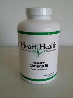 Heart Health Omega 3 Fish Oil