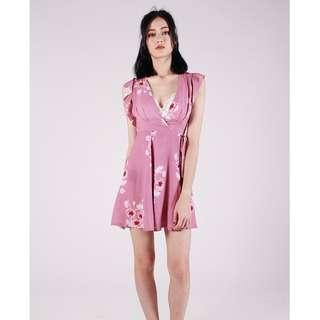 Kissbelabella Floral Sakura Dress M
