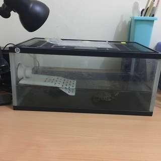 aquarium reptil/ikan P35 L23 T15