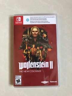 Switch game wolfenstein 德國總部二