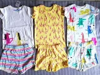 NEXT girls shirts & shorts