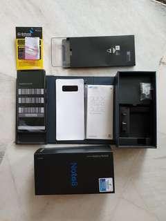 Samsung Note 8,Warranty until September 2019