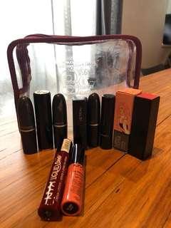 Assorted lipsticks
