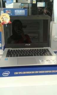 credit Laptop Asus A455LA tanpa Cc