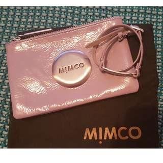 MIMCO small pounch with detachable wrist strap