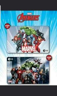 Avenger Latest release Ezlink Card design A and B