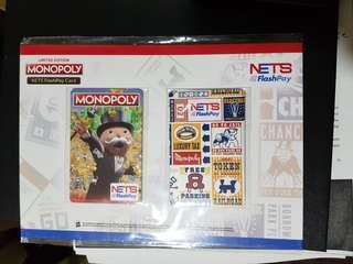Limited Edition Monopoly Nets Flashpay Set