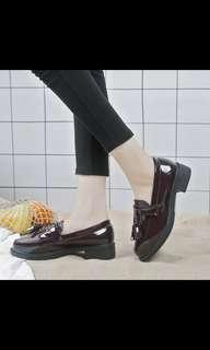 [PO #79] Fringe low heels