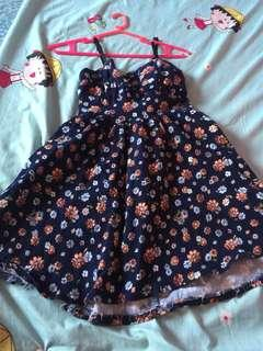 Floral Sexy Dress