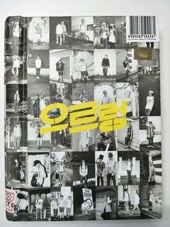EXO 1st ALBUM XOXO GROWL (kiss ver)