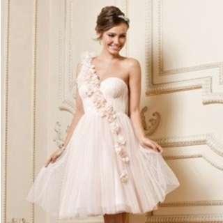 Forever New one shoulder flower dress