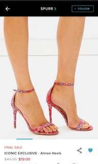 Red Strap Heels