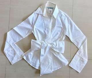 Brand New Authentic MARICANO Elegance Free Style White Shirt