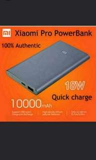 Promo Sale Xiaomi Powerbank 10000mAh Pro Slim