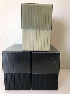 Floppy disks boxes 膠盒
