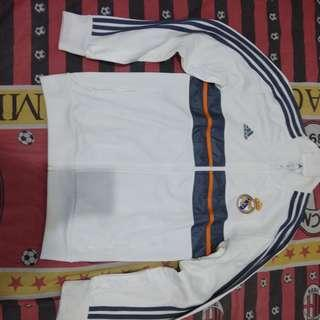 Jaket real madrid anthem size S Original minus noda