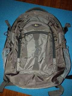 Camel Mountain Laptop Backpack grey bag