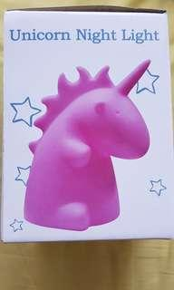 Unicorn kid's Night Light