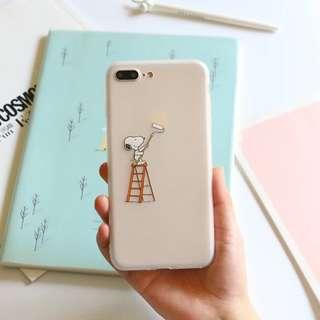 Snoopy IPhone 7 Plus frosted soft cover