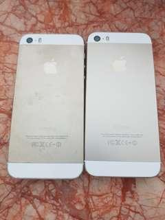 2 x Iphone 5s Gold [Buy 1 get 1 free]