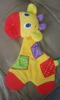Baby giraffe theeter/soft toys