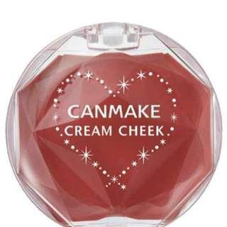 Canmake日本最新 16號磚紅絲絨腮紅霜
