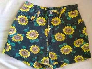 Sunflower High waist Short
