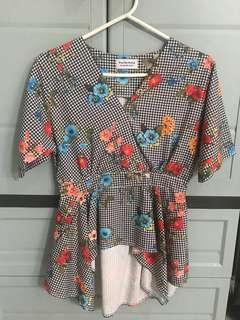 Kimono Gingham