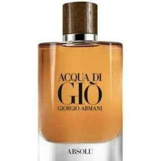 BRAND NEW AQUA DI GIO ABSOLU GORGIO ARMANI 75ML EDP
