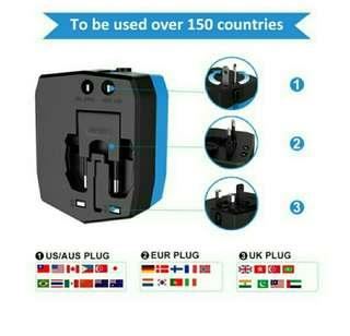 Milool Universal World Travel Adapter