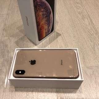 New Iphone Xs Max 512GB Gold Ready Cash atau Cicilan