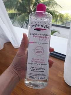 Micellar water makeup remover cleanser
