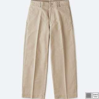 Uniqlo U Front Crease Culotte Pants