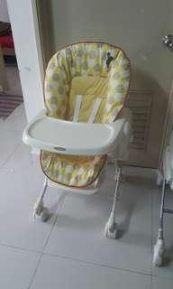 Combi Parenting Station (Babychair/Babybed/Baby swing)