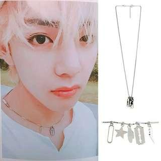 """(PO) BTS V/Taehyung """"multiple"""" necklace 