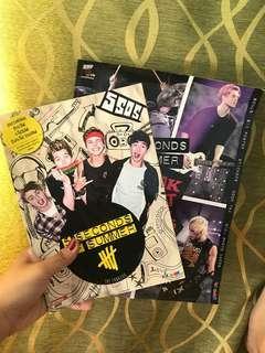 5SOS Merchandise book
