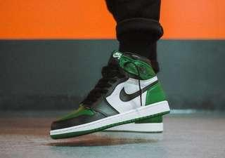 Air Jordan 1 Pine Green