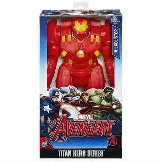 "Marvel Avengers 12"" Hulkbuster Titan Hero Series Action Figure MISB"