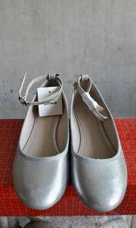 Pimkie Silver Doll Shoes
