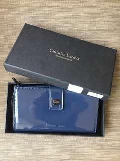 Christian Lacroix Navy Wallet