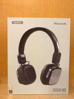 全新Remax 200HB Bluetooth Headphones藍牙耳筒