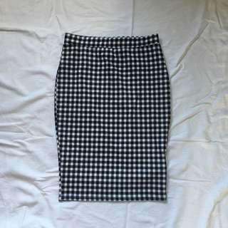 Cotton On Gingham Skirt