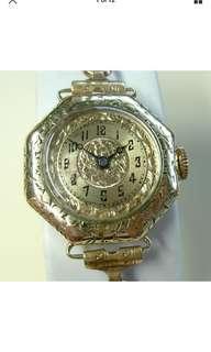 Vintage 1921 Bulova Lady Maxim Art Deco Watch - Model B II