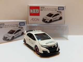 TOMY TOMICA AEON NO.40 第40彈 本田 思域 HONDA CIVIC TYPE R (RACE CONTROL)