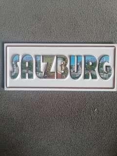 Fridge magnet Salzburg