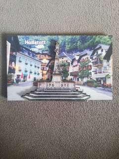 3D Fridge Magnet Hallstatt Europe